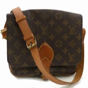 Authentic Louis Vuitton Shoulder Bag Cartouchiere